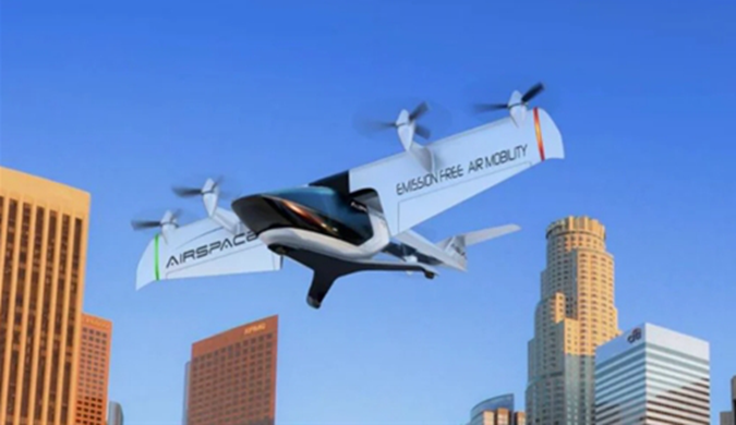 美公司展示空中出租车原型机:时速可达400公里