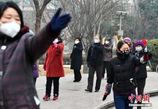 华北黄淮部分地区有严重霾 北方局地降温8℃以上