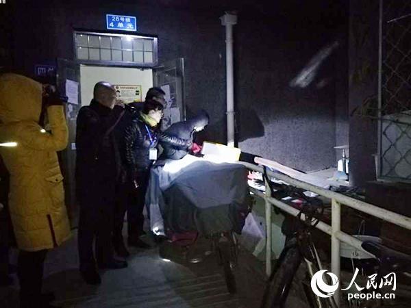 北京丰台消防集中进行电动自行车专项夜查行动