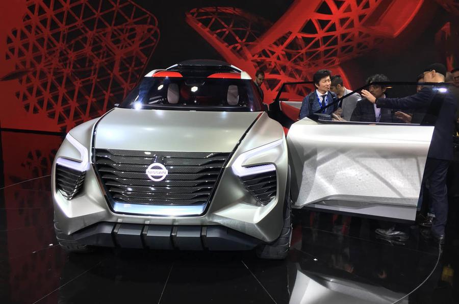 日产全新概念车Xmotion亮相底特律车展 未来设计前瞻
