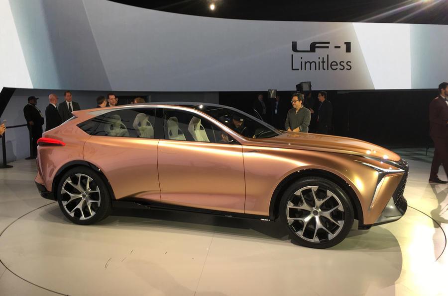 雷克萨斯LF-1 Limitless概念车首秀 旗舰SUV前瞻