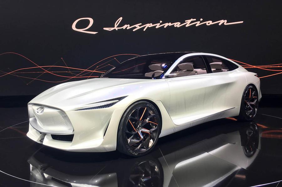 英菲尼迪Q Inspiration概念车全球首秀 配可变压缩比引擎