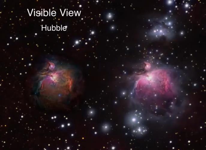 超震撼!NASA视频360度展现银河系中心