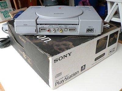 最初版本的PlayStation,发布于1994年,PlayStation是索尼在视频游戏领域中所取得的第一个重大成功。在推出9年零六个月时间以后,PlayStation成为第一种销售量达到1亿台的视频游戏机。