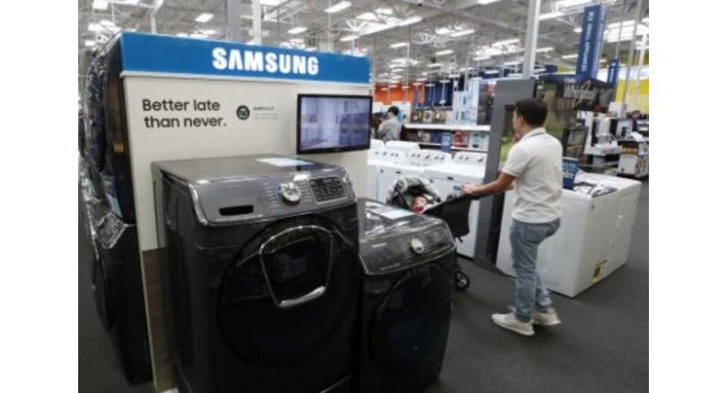 三星在美首个洗衣机工厂将开工 可创造1000个岗位