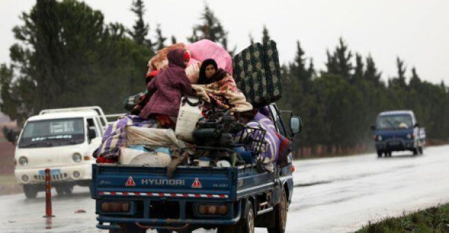 联合国:叙利亚西北部战事1个月导致20万人流离失所