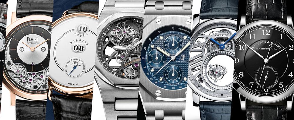 日内瓦表展 腕表从来就是高贵的代名词