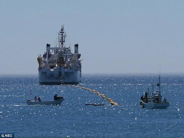 为扩张云服务:谷歌拟新建三条海底光缆