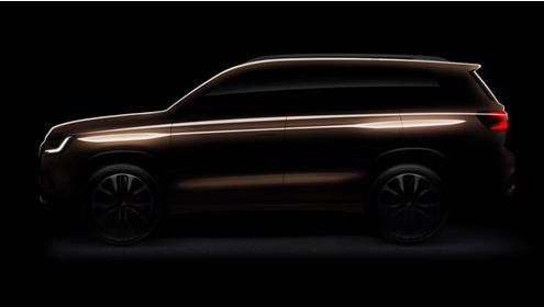 荣威全新SUV曝光:双腰线设计 大型七座豪华SUV