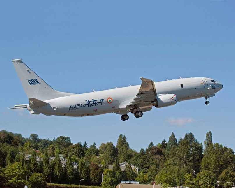 防范中国? 美媒:印度欲加购美国P8I反潜巡逻机