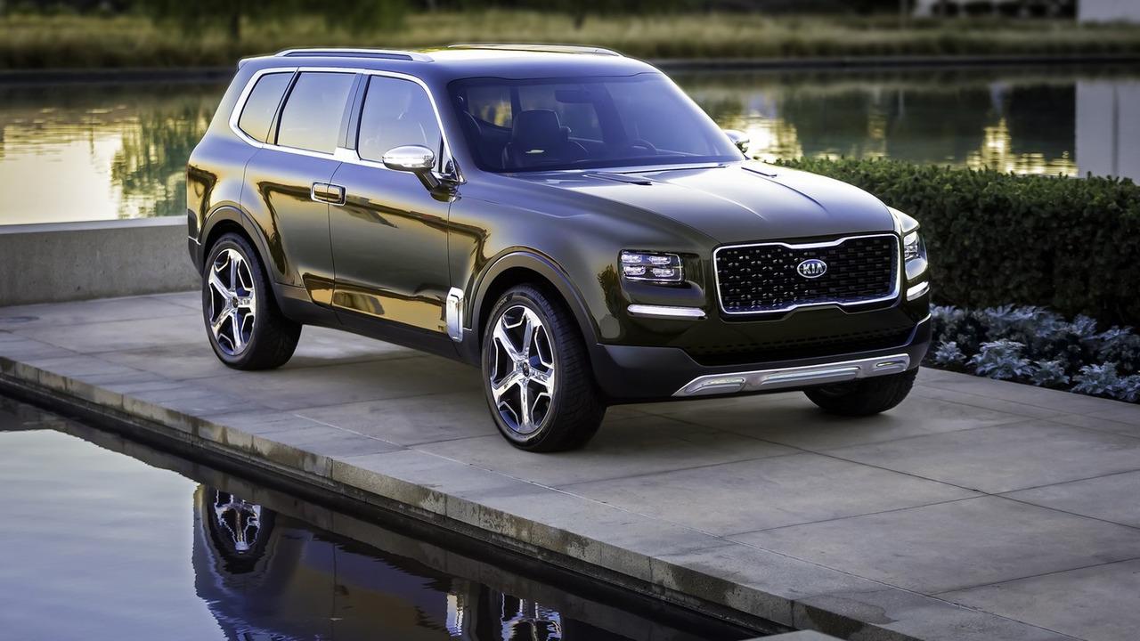 起亚证实将量产Telluride大型SUV 主打美国市场