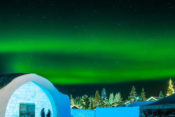 瑞典冰雪酒店3万立方米冰雪打造冰冷彻骨的美
