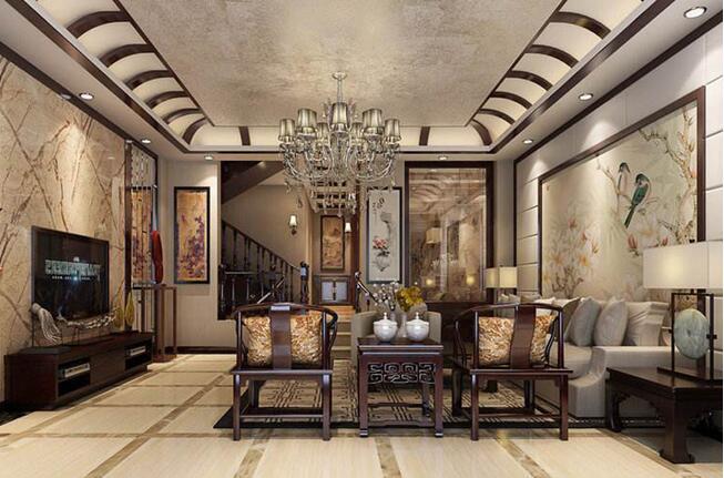 其实,用同种材质的中式和欧式装饰品配伍,可以让整个混搭风格的室内