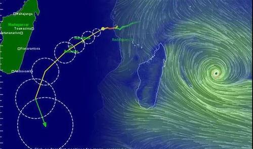 媒体:毛里求斯台风警报升至三级中使馆吁减少外出