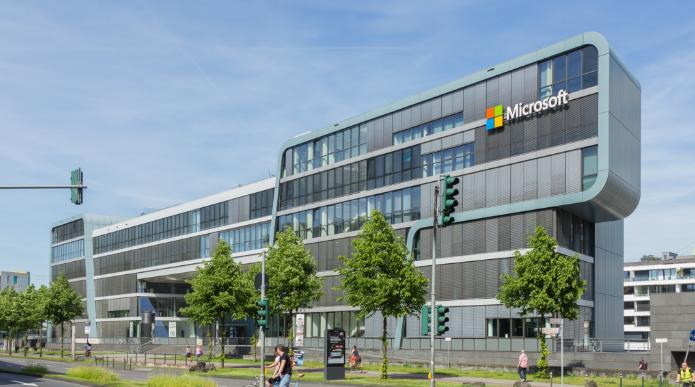 汤森路透公布全球科技公司前100强名单 微软第一