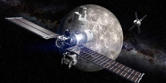 "NASA想建绕月空间站""深太空通道""为登火星做准备"