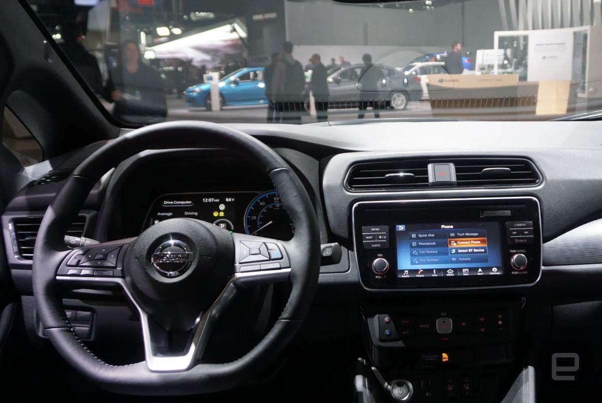 日产电动汽车Leaf即将上市,预订量超过1.3万辆