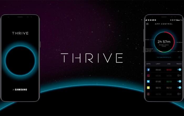 三星为Note 8推出时间管理软件Thrive