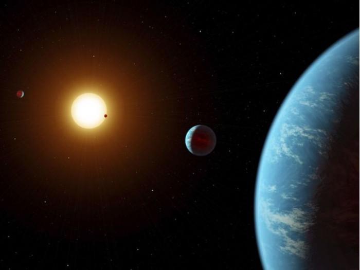 """公民科学家发现了一个不寻常的新""""太阳系"""""""