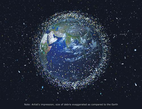 中国欲建天基激光站清除太空垃圾?