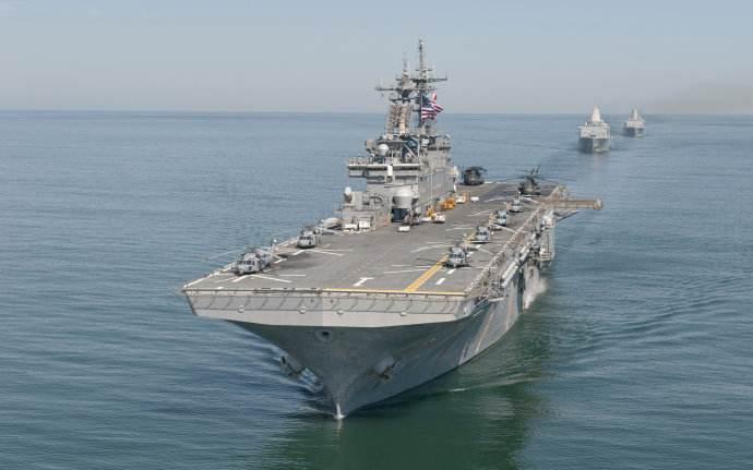 美军黄蜂号两栖舰常驻日本 部分性能远超俄航母