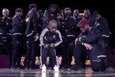美5岁小舞者嘻哈表演嗨翻全场