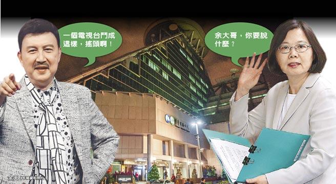 """华视被""""染绿""""闹上民进党中常会 蔡英文:不要跟我""""告御状""""!"""