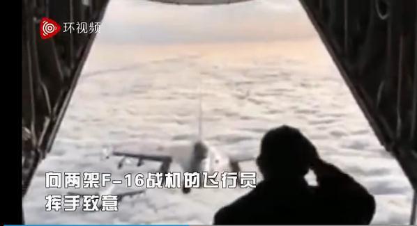 你见过开着舱门跟战斗机打招呼的吗?丹麦首相这样玩儿【视频】