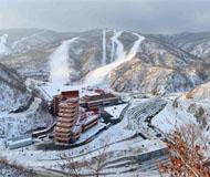 朝韩滑雪选手将在朝滑雪场共同训练