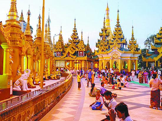 僧侣众多的微笑国度 到缅甸来一场佛系旅行
