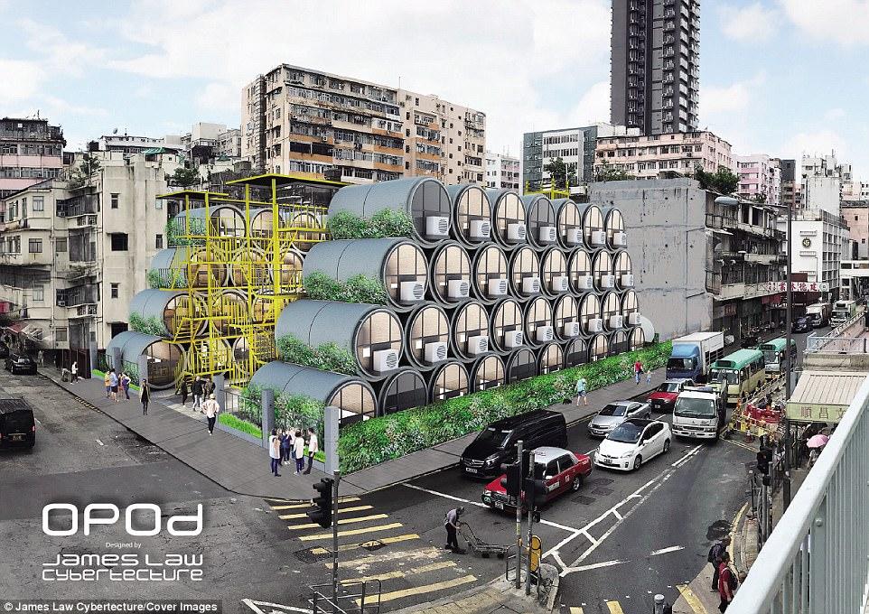 麻雀虽小五脏俱全!香港公司建管道微型房屋