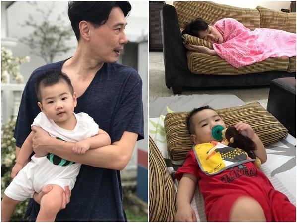 "Ella儿子9个月就超帅 浓眉大眼成""单眼皮型男"""