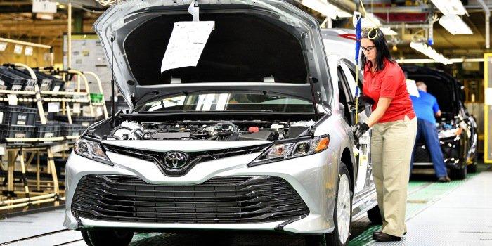 凯美瑞与卡罗拉需求下降 丰田2017年北美产量减少
