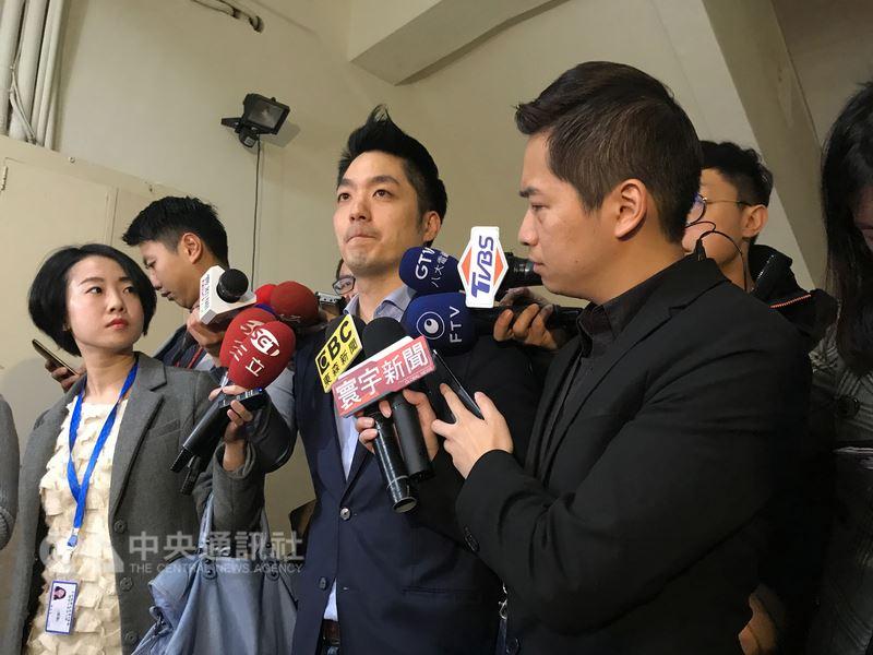 蒋万安宣布不参选台北市长 将继续抗衡监督蛮横的民进党