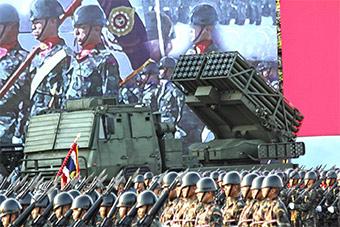 泰国陆军阅兵中国三大武器全部亮相
