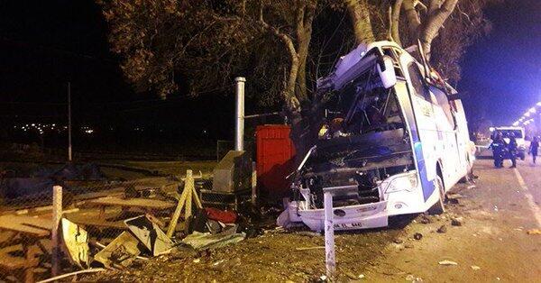 快讯!土耳其巴士撞树致至少11人死亡