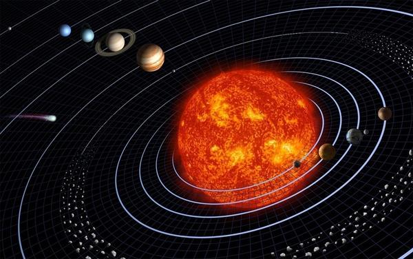 NASA证实太阳引力正在减弱