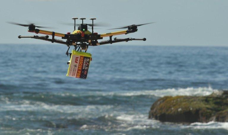 澳大利亚打造无人机救援队 35秒内救下两名男孩