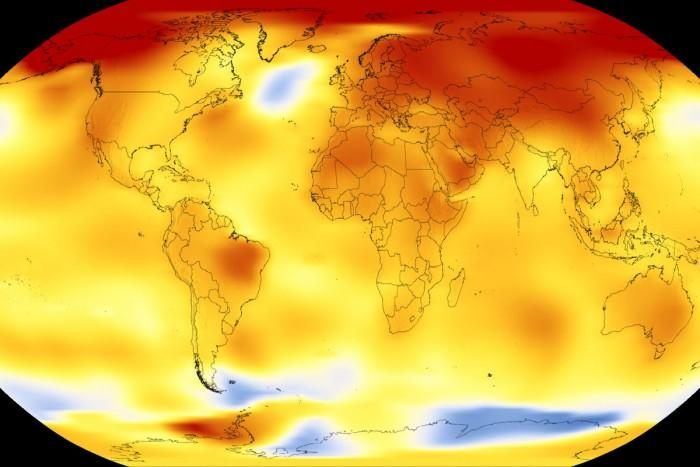 2017年是有观测记录以来最热的年份之一