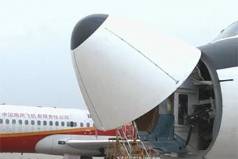中国火控雷达测试机曝光