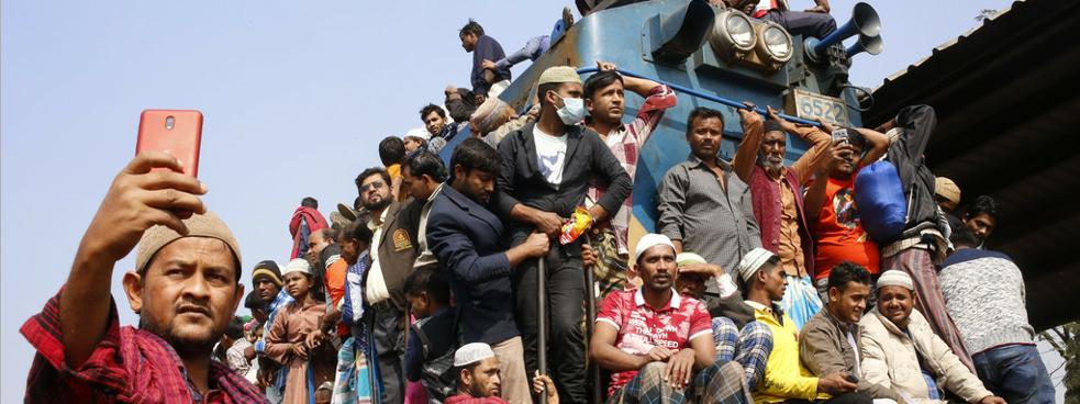 孟加拉国世界穆斯林大会结束