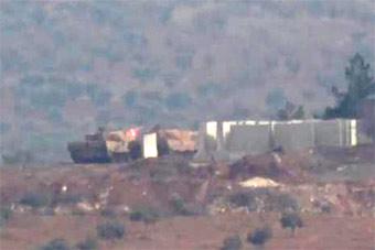 """土耳其豹2坦克刚进叙利亚就被""""暴打"""""""