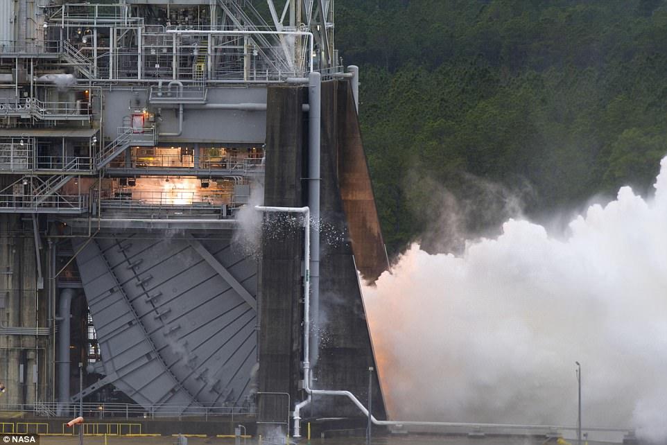 NASA最大火箭关键组件实现突破 有望飞往火星