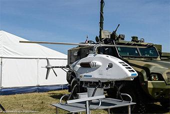 俄罗斯研发特种侦察车无人机为标配