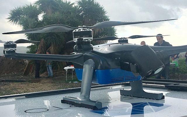 市场监管放松 以色列商用无人机销量大增