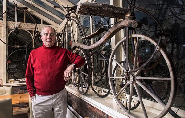 不可思议!英国最古老自行车距今199年