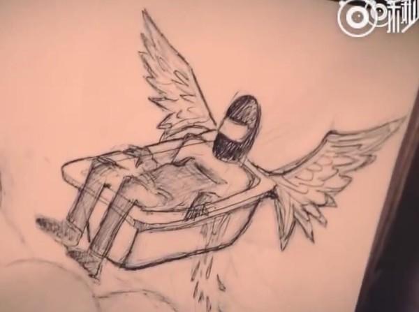 飞缸环游记?老外用浴缸做了一个无人机