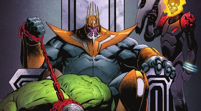 灭霸穿越未来打自己:绿巨人变宠物狗
