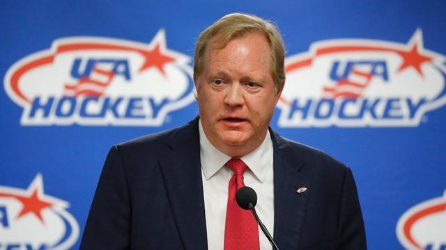 美冰球队总经理去世 曾助建无NHL选手冬奥战队