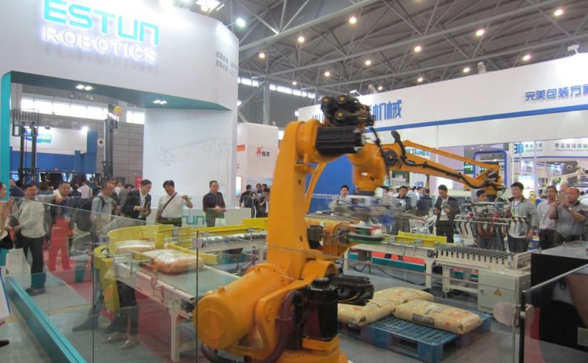 机器人生产机器人!埃斯顿智能机器人工厂日前投产